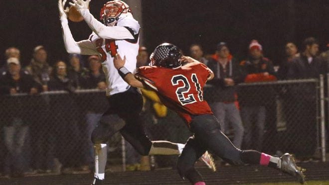Marathon tight end Nathan Stoffel had more than 1,000 yards receiving this season and was recently selected to the Wisconsin Football Coaches Association all-state football team,