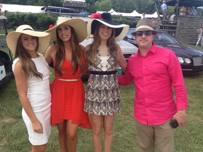 Fashions from the 2014 Iroquois Steeplechase.