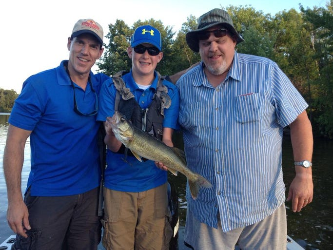 Eagle river fishing report for aug 18 for Eagle river wi fishing report