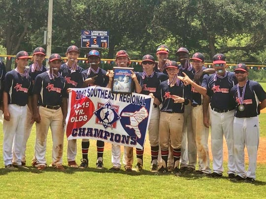 The Tallahassee-Leon Babe Ruth 15U all-star team won five straight elimination games to capture a southeast regional title and clinch a berth in the Babe Ruth World Series.