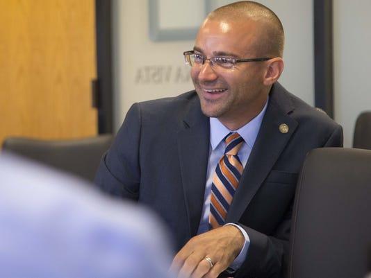 Superintendent Chad Gestson