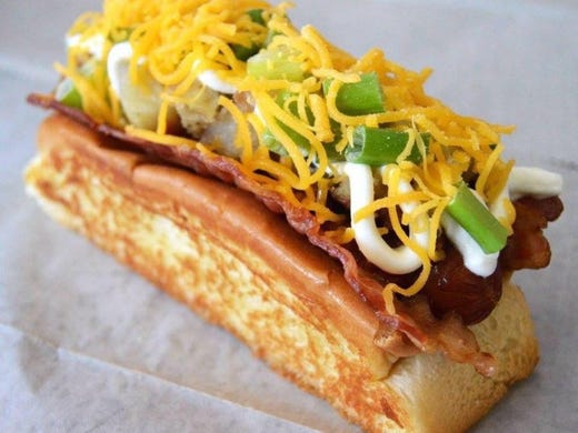 This Covered Wagon Hotdog From Db Hot Dogs And Ice
