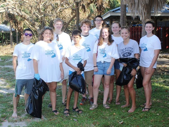 Martin County High School Green Team: Nick Ranieri,