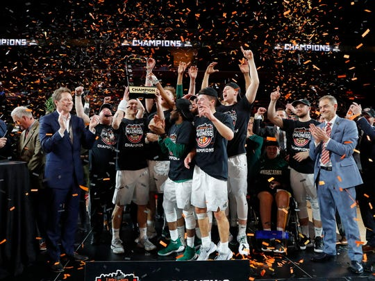 Wright State, Horizon League champions. No. 14 seed in South.