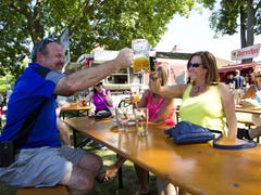 Where to find beer gardens in Milwaukee's south suburbs
