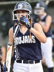 Chambersburg's Caeley Etter prepares to bat during