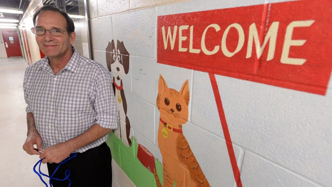 Chuck Wilson takes over as the interim director of the Caddo Parish Animal Services.