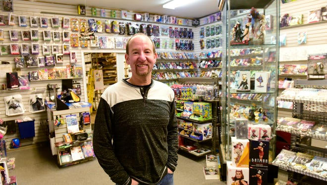 Chris Rupp, owner of Rupp Comics in Fremont, said his goal is to get people interested in reading.