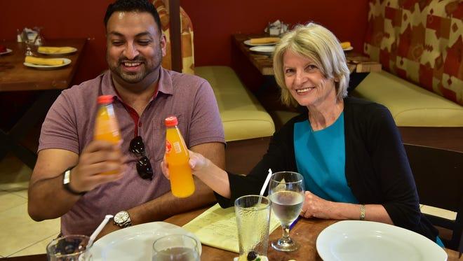 Sameer and Esther Davidowitz, Food Editor