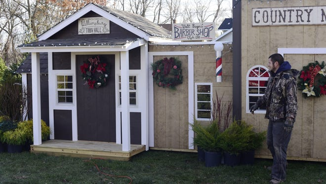 Kent Williams of Fremont built a village for Winter Wonderland at the Sandusky County Fairgrounds. The fairgrounds are used for more than just the fair on a yearly basis.