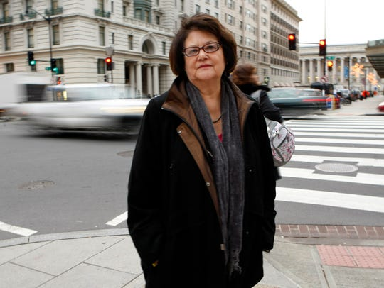 Elouise Cobell, Blackfeet Tribal community leader and activist for Native Americans, is pictured in Washington, D.C., in 2009.