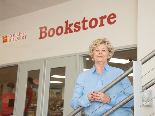 COD Alumna Barbara Keedy Eastes worked in the COD Bookstore for 41 years before retiring in 2008.