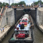 Genesee beer tanks begin Erie Canal journey to Rochester