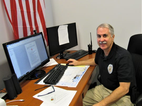 Capt. Bobby Hubbs heads data analysis for the Knox County Sheriff's Office.