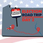 Lincoln Highway election road trip Day 2