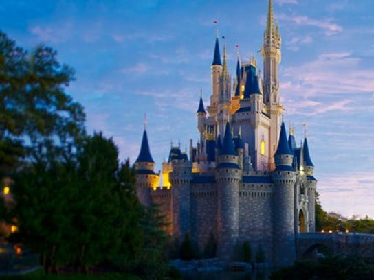 Castle at Disney World.