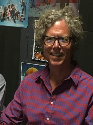 Singer-songwriter Gary Louris of the Jayhawks is shown in the USA TODAY audio studio on June 18, 2016.