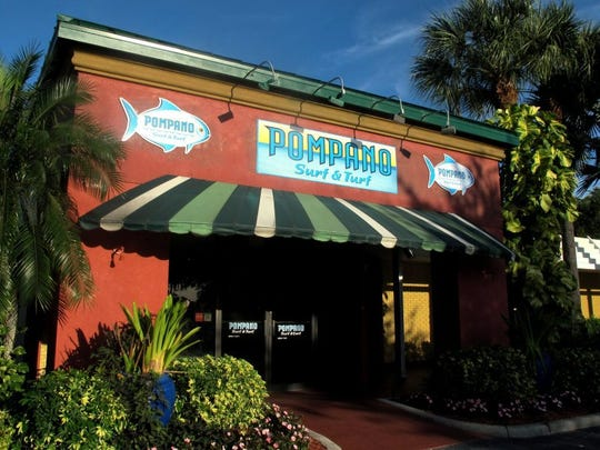 Pompano Surf & Turf operated from May 2014 to May 2016 in the former location of Pate's Steakhouse in Ramada Inn of Naples.