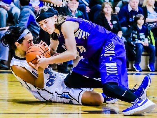 Fowlerville vs Lansing Catholic Basketball