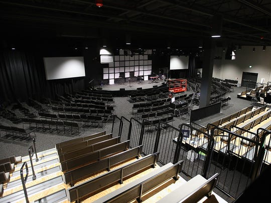 The auditorium at the Newlife Training Center in Silverdale.