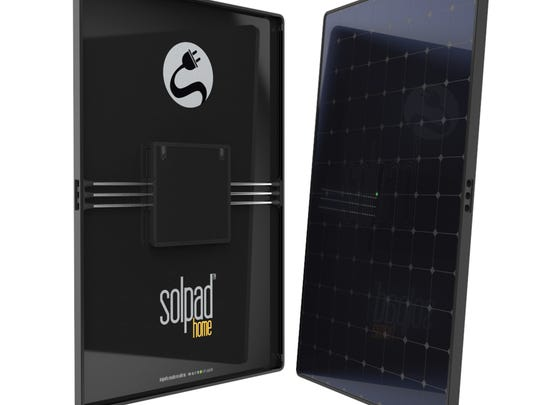 SolPad Home panels for rooftop