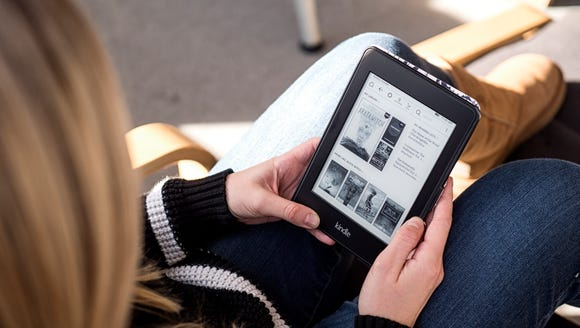 Have an entire library with you on-the-go.