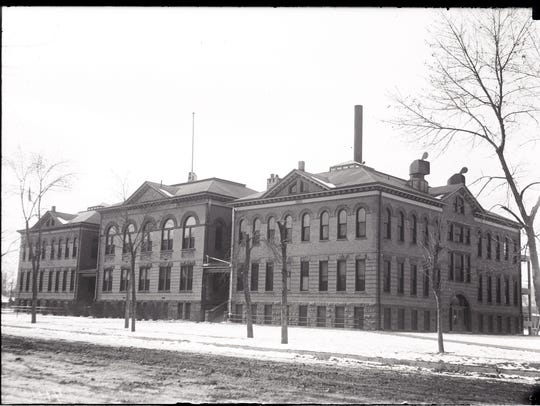 Fort Collins Junior High School, shown in this undated