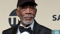Morgan Freeman, the recipient of the Screen Actors