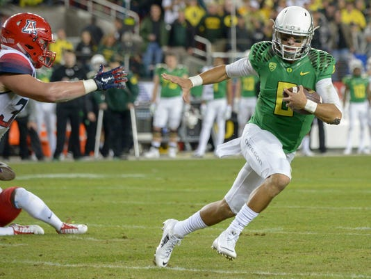 NCAA Football: Pac-12 Championship Game-Arizona vs Oregon