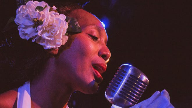 "The stage production ""Lady Day at Emerson's Bar & Grill"" tells the story of jazz singer Billie Holiday's final performance."