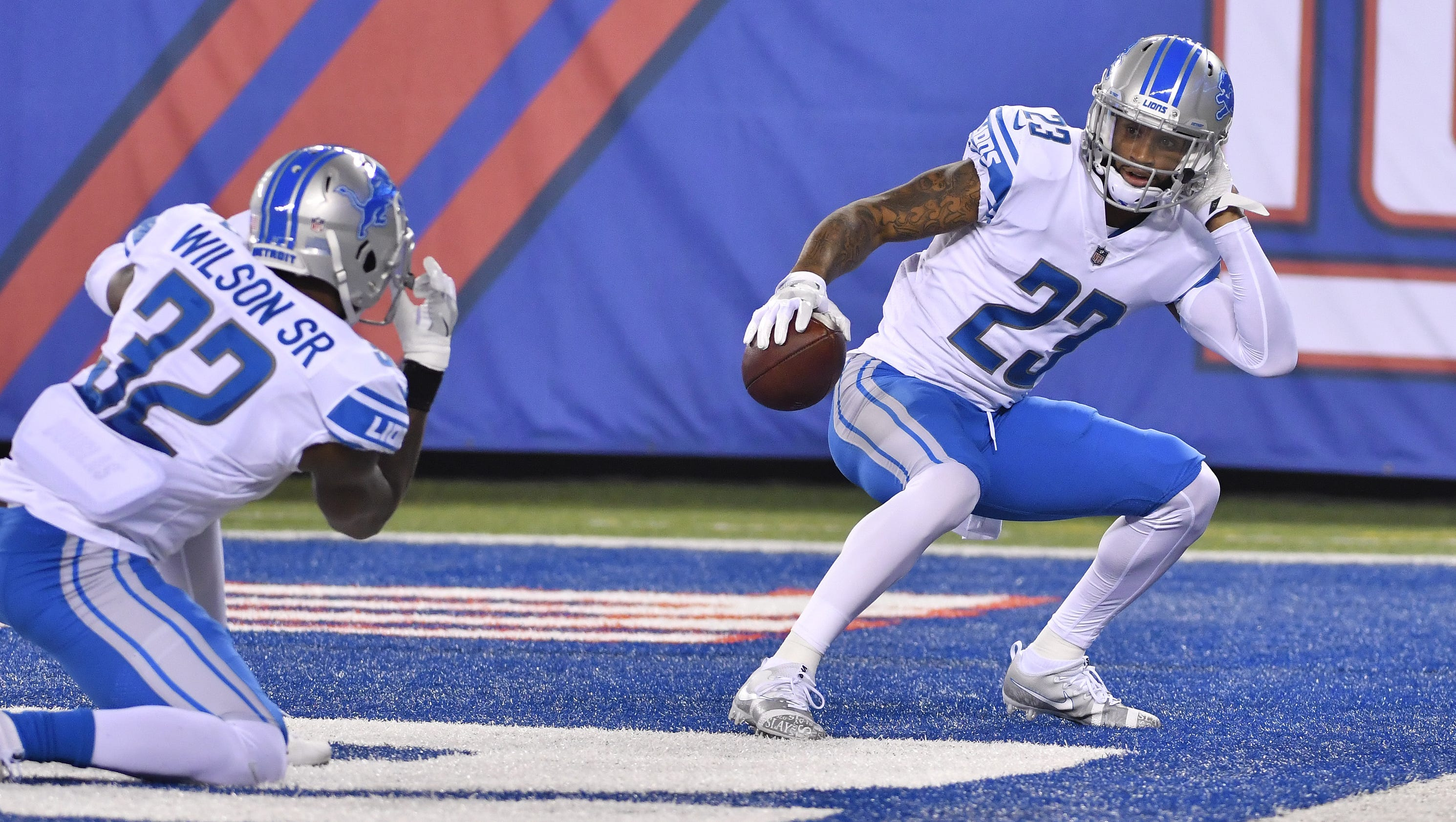 No fear Lions Darius Slay is risk taker playmaker star