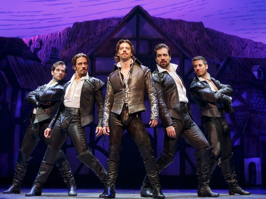 "Best performance by an actress in a featured role in a play: Christian Borle, takes center stage in ""Something Rotten!"""