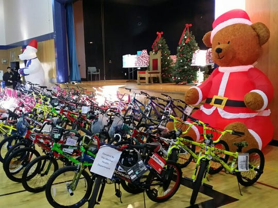 The Sixth Annual Cops Giving Tree event held in Soledad.