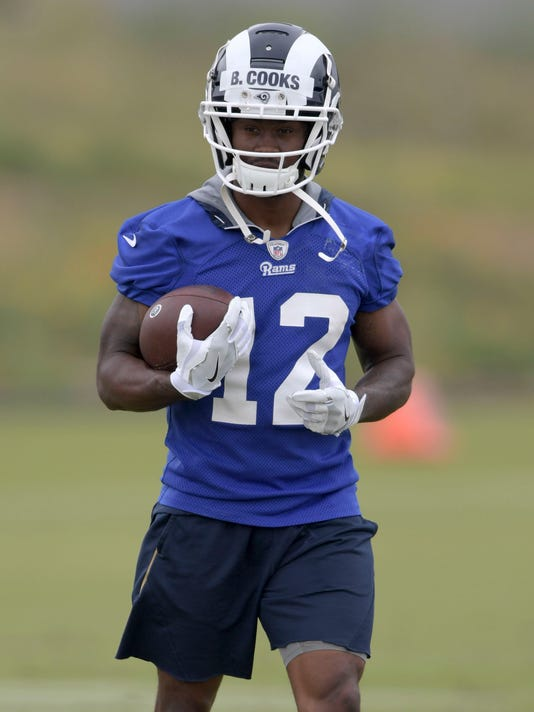 the latest 1037a ce4cd Brandin Cooks, Rams agree to five-year extension through 2023