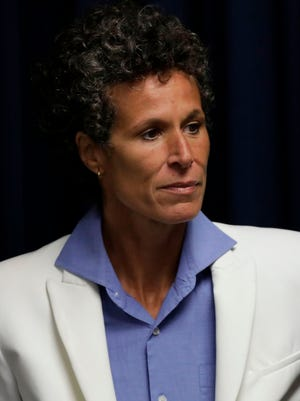 Andrea Constand, the main accuser from Bill Cosby's sexual assault retrial.