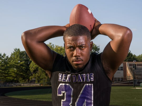 Delbert Mimms, running back, Ben Davis High School,