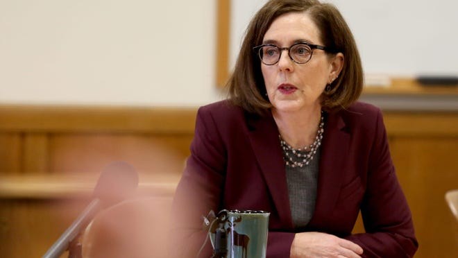 Oregon Gov. Kate Brown.