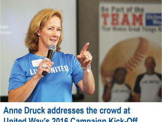 Anne Druck will be the new executive director/chief