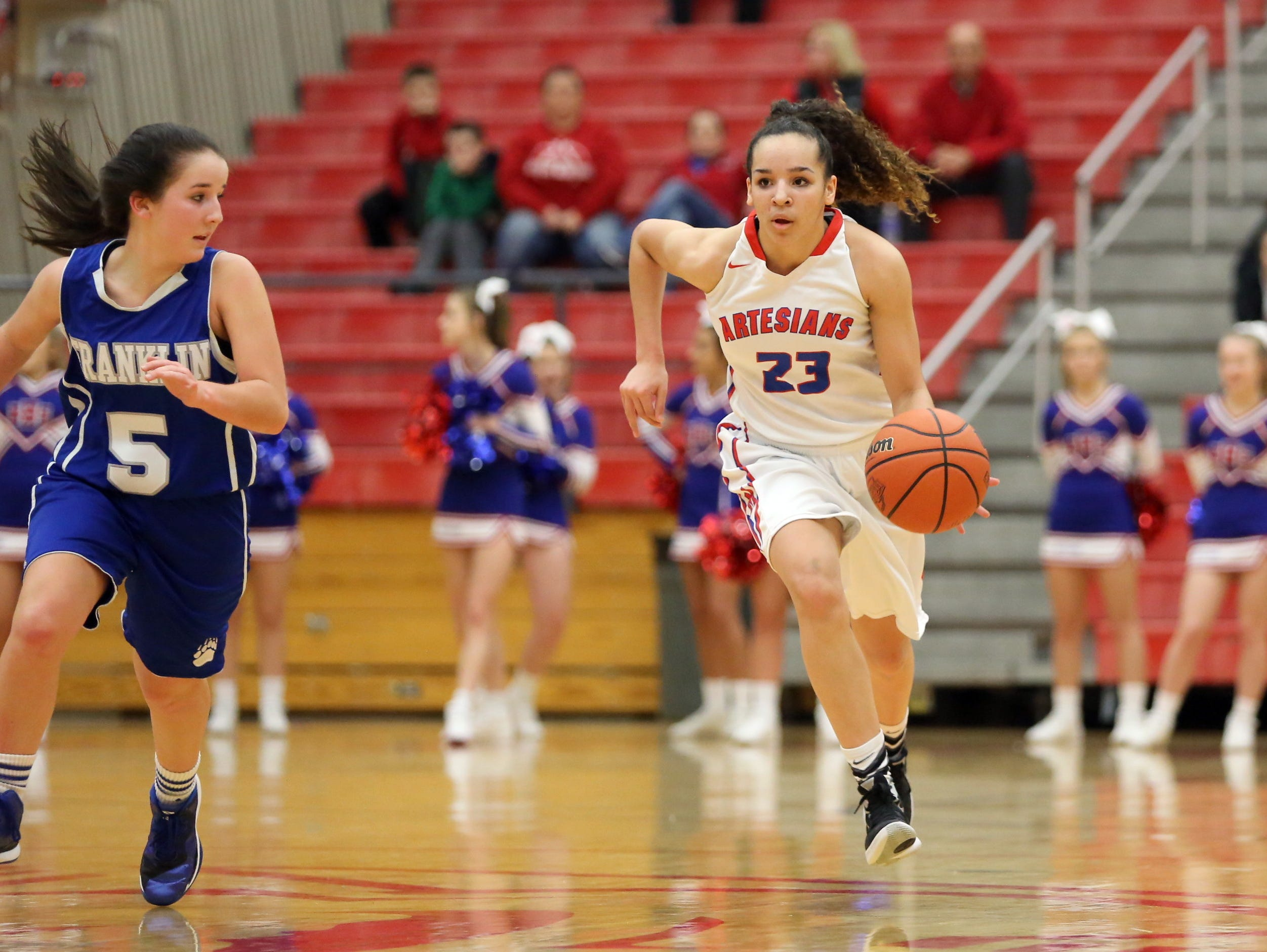 Martinsville's Kayana Traylor is committed to Purdue.
