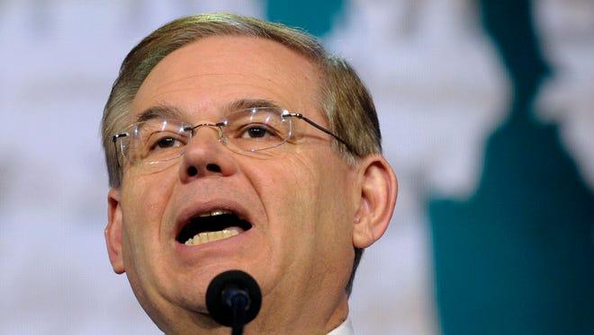 Sen. Robert Menendez, D-N.J., wants a probe of an alleged Cuban plot to discredit him.