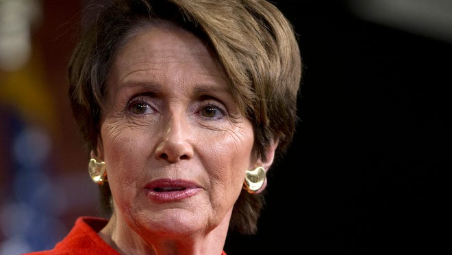 House Minority Leader Nancy Pelosi, D-Calif., took issue with a Congressional Budget Office report that says raising the minimum wage could cost jobs.