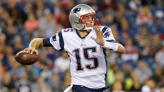 Ryan Mallett has attempted just four passes in his NFL career.