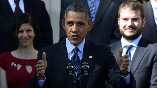 President Obama defends HealthCare.gov last week.