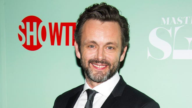 """Michael Sheen at the premiere of Showtime's """"Masters of Sex"""" in New York.  Sheen was nominated for a Golden Globe for best actor in a drama series for his role in the series on Thursday, Dec. 12, 2013.  The 71st annual Golden Globes will air on Sunday, Jan. 12."""