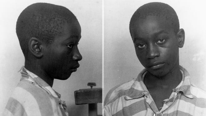 An undated photo provided by the South Carolina Department of Archives and History shows 14-year-old George Stinney Jr., the youngest person ever executed in South Carolina.