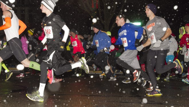 The Fantasy 5K run will again precede this year's Fantasy of Lights parade, with the run taking place at 6 p.m. at the parade an hour later.