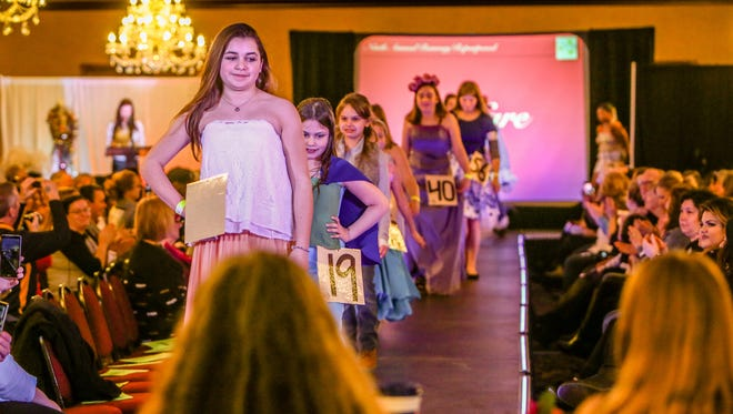 Models made their final walk through before the judges and an enthusiastic crowd at Crystal Gardens for last year's Runway Repurposed fashion show. The next installment of the annual events will be held by new nonprofit Grassroots Arts Initiative at Oak Pointe Country Club Feb. 25, 2018.