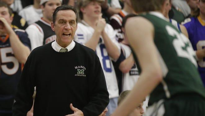 Mason head basketball coach Greg Richards has seen seven former assistants earn head basketball coaching jobs around the area.