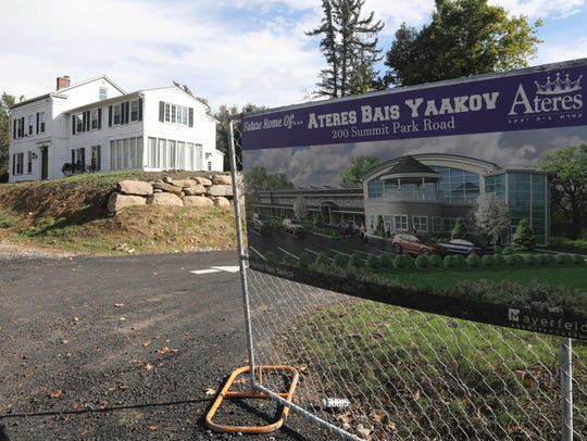 The property at the Ateres Bais Yaakov Academy of Rockland