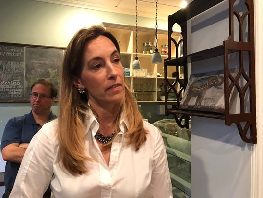 Mikie Sherrill is a Montclair resident and Democratic contender who has thrown her hat into the race to replace 12-term Republican Congressman Rodney Frelinghuysen in New Jersey's 11th Congressional District.